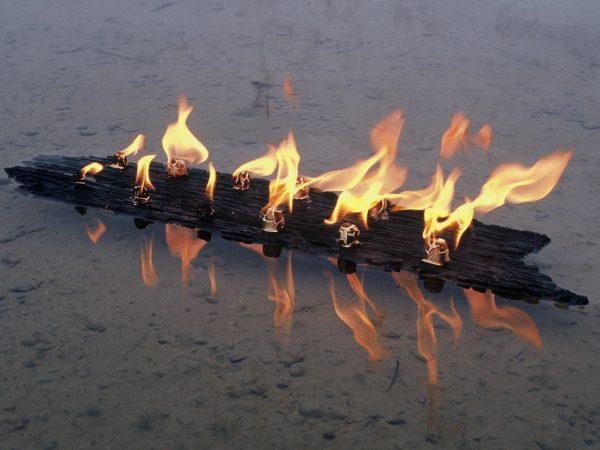 Landart Feuer