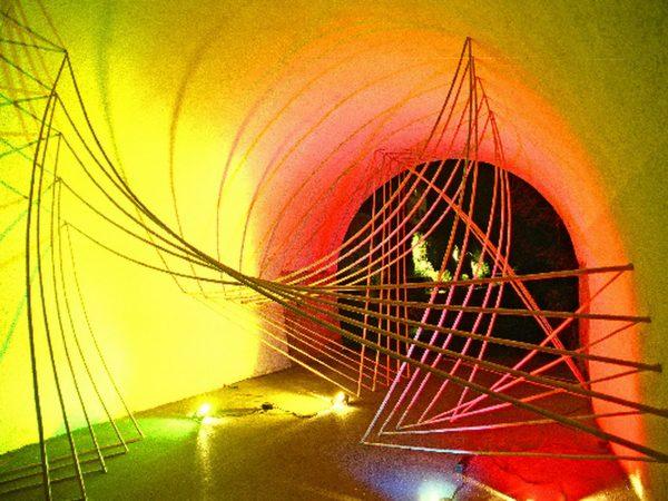 Lichtbögen - Kulturnacht Radolfzell 2005