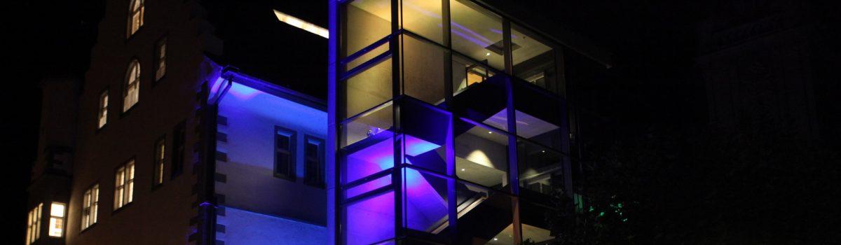 Fassadenillumination Östereichisches Schlösschen Radolfzell