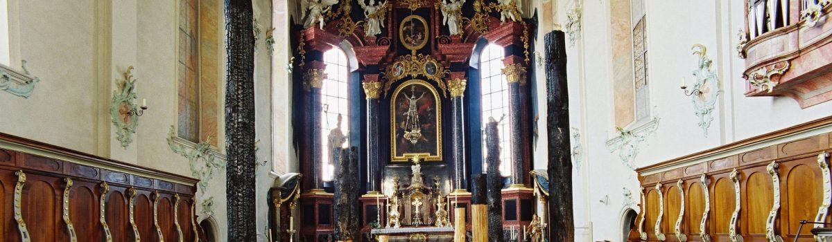 Rauminstalltion Kirche St. Ulrich Kreuzlingen